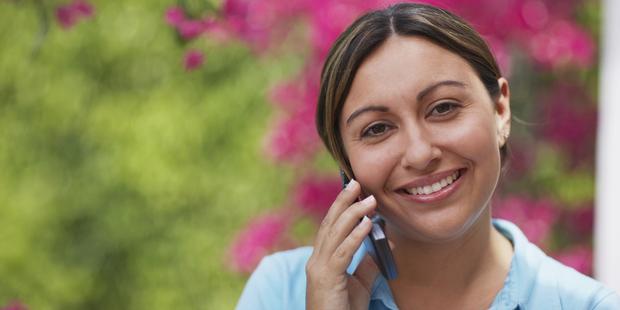 hacer llamadas a larga distancia: